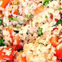 Brown Rice, Tomatoes and Basil Recipe