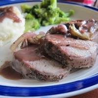 Burgundy Pork Tenderloin Recipe