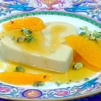 Burnt-Orange Panna Cotta Recipe