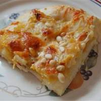 Butternut Squash Pizzas with Rosemary Recipe
