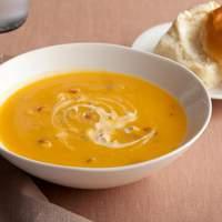 Butternut Squash Soup with Chipotle Cream Recipe