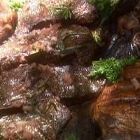 Cabernet Steak and Mushrooms Recipe