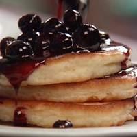 Cakey Buttermilk Pancakes Recipe