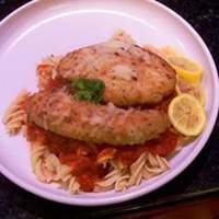 Calamari Steaks Parmigiano Recipe