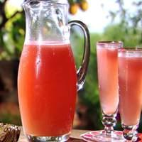 California White Peach and Sparkling Wine Cocktail (aka Bellini) Recipe