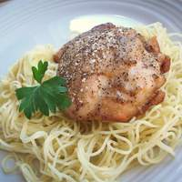 Cardamom Chicken with Salt and Pepper Crust Recipe