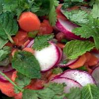 Carrot, Orange and Radish Salad Recipe