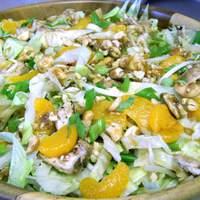 Cashew Chicken Salad With Mandarin Oranges Recipe