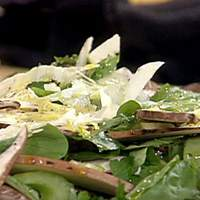 Celery and Portobello Salad Recipe