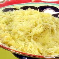 Cheese and Pepper (Cacio e Pepe) Spaghetti Squash Recipe