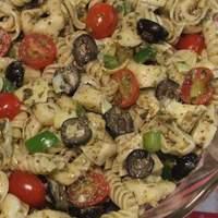 Cheese Tortellini Pesto Pasta Salad Recipe