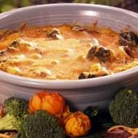 Cheesy Broccoli Bake Recipe