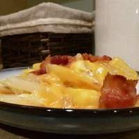 Cheesy Fried Potatoes Recipe