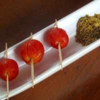 Cherry Tomatoes Marinated in Vodka (In Oversized Martini Glass) Recipe