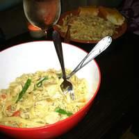 Chicken and Asparagus Fettuccine Recipe