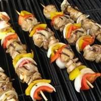 Chicken and Bacon Shish Kabobs Recipe