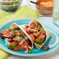 Chicken and Beef Fajitas Recipe