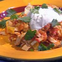Chicken and Green Chile Chilaquiles Recipe