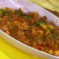 Chicken and Mushroom Goulash with Gnocchi Recipe