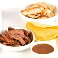 Chicken and Steak Fajitas Recipe