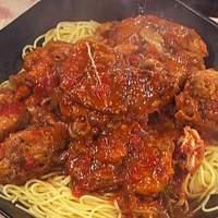 Chicken Cacciatore with Spaghetti Recipe