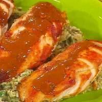 Chicken in Tarragon Cream Sauce, White and Wild Rice with Walnuts Recipe