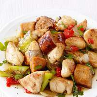 Chicken, Sausage and Peppers Recipe