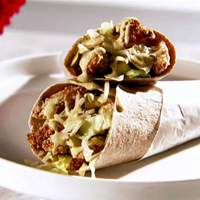 Chicken Strip Wrap with Sweet Mustard Recipe
