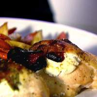 Chicken with Goat Cheese and Sun Dried Tomato Recipe