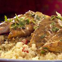 Chicken with Green Curry Sauce Recipe