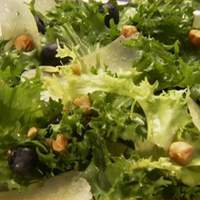 Chicory Salad with Blueberries, Hazelnuts, and Aged Manchego Recipe