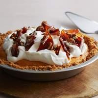 Chiffon Pumpkin Pie with Pecan Brittle Recipe