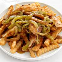 Chile Chicken With Fries Recipe