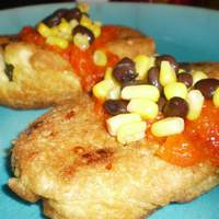 Chiles Rellenos With Roasted Red Pepper Sauce Recipe