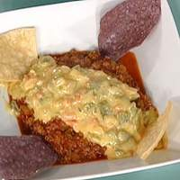 Chili con Carne and Chili con Queso with Tortilla Chips Recipe