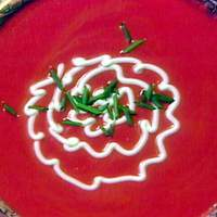 Chilled Beet Soup with Chives Recipe