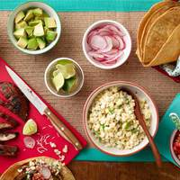 Chipotle-Grilled Mushroom Taco Bar Recipe