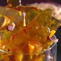 Chocolate Almond Apricot Brittle Recipe