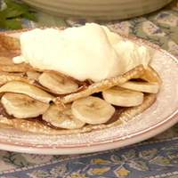 Chocolate-Banana Filled Crepes Recipe
