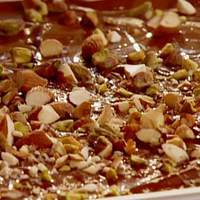 Chocolate Bark with Mixed Nuts and Dried Cherries Recipe