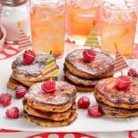 Chocolate-Chocolate Veggie Pancakes Recipe