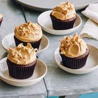 Chocolate Cupcakes and Peanut Butter Icing Recipe