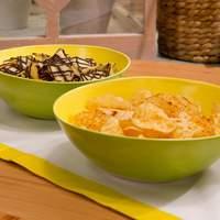 Chocolate-Drizzled Potato Chips Recipe