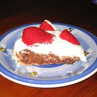 Chocolate Pavlova With Raspberries Recipe