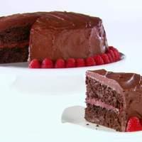Chocolate-Raspberry Layer Cake Recipe