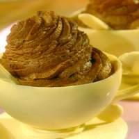 Chocolate Tea Cup and Saucer Recipe