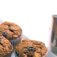 Chunky Banana Bran Muffins Recipe