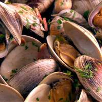 Clams with Pancetta and Scallions Recipe