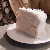 Coconut Cake with 7-Minute Frosting Recipe