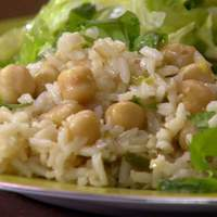 Coconut-Ginger Rice with Chickpeas and Chiles Recipe